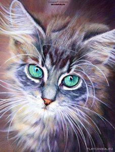Рисунки животных в цвете   подборка 024