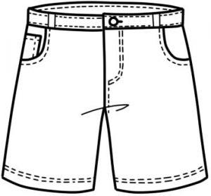 Рисунки карандашом девушки в шортах 025