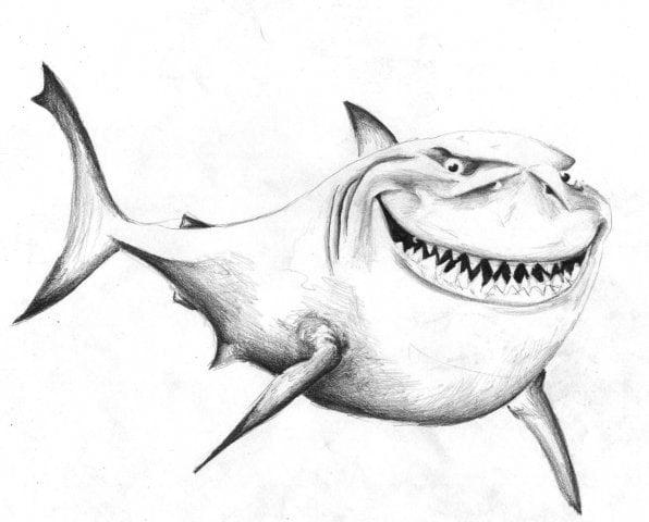 Рисунки карандашом легкие и смешные 016