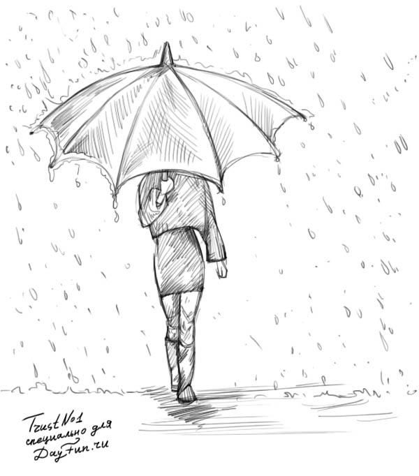 Рисунки карандашом поэтапно сложные срисовки 009
