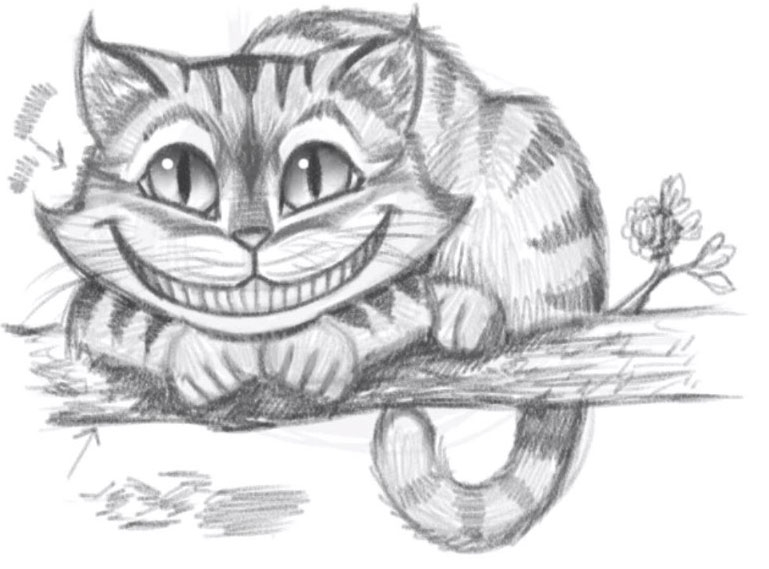 Рисунки карандашом поэтапно сложные срисовки 010