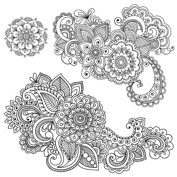 Рисунки карандашом простые узоры   коллекция015