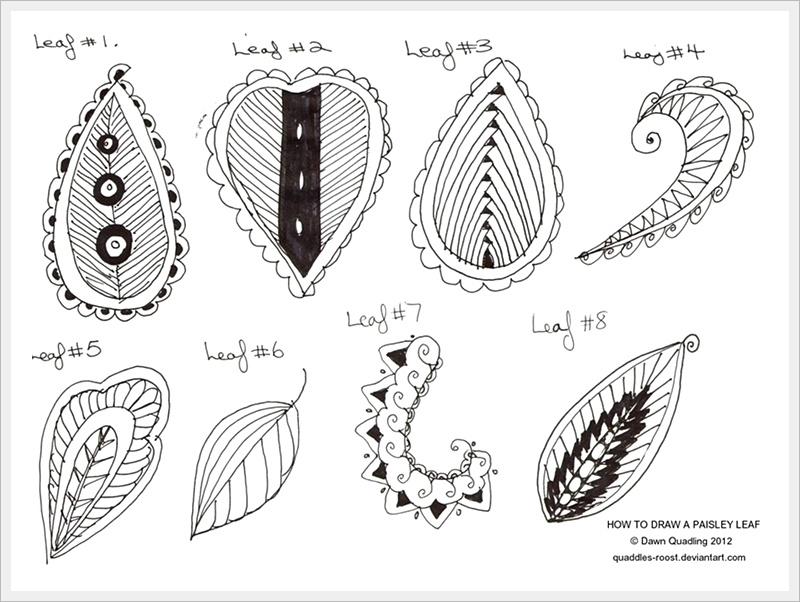 Рисунки карандашом простые узоры   коллекция018