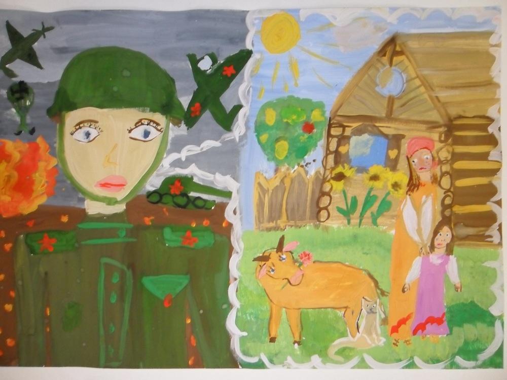Рисунки на День Защитника для детей019