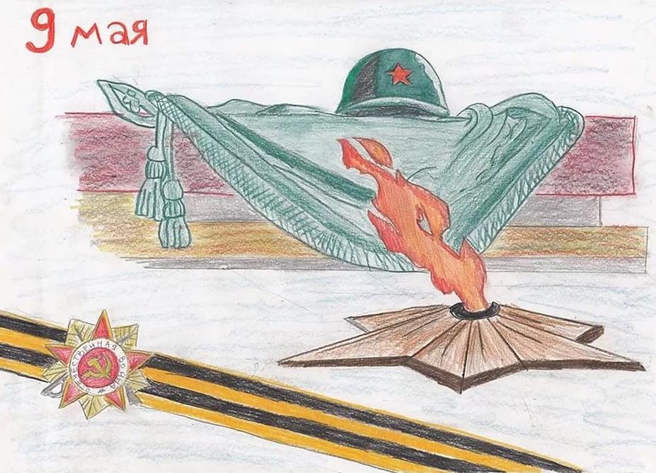 Рисуем открытки ко дню победы, котята смешные смешные