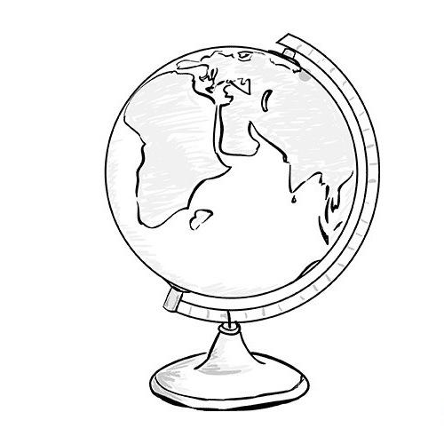 Открытка на день учителя рисовать глобус, про гуся