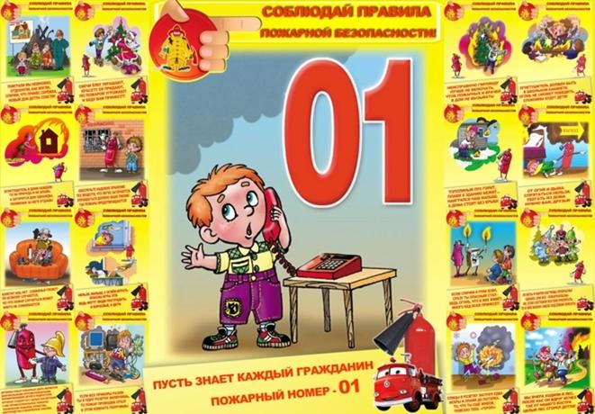 Рисунки по пожарной безопасности для начальной школы006
