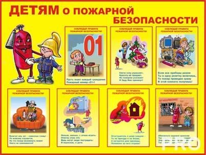 Рисунки по пожарной безопасности для начальной школы011