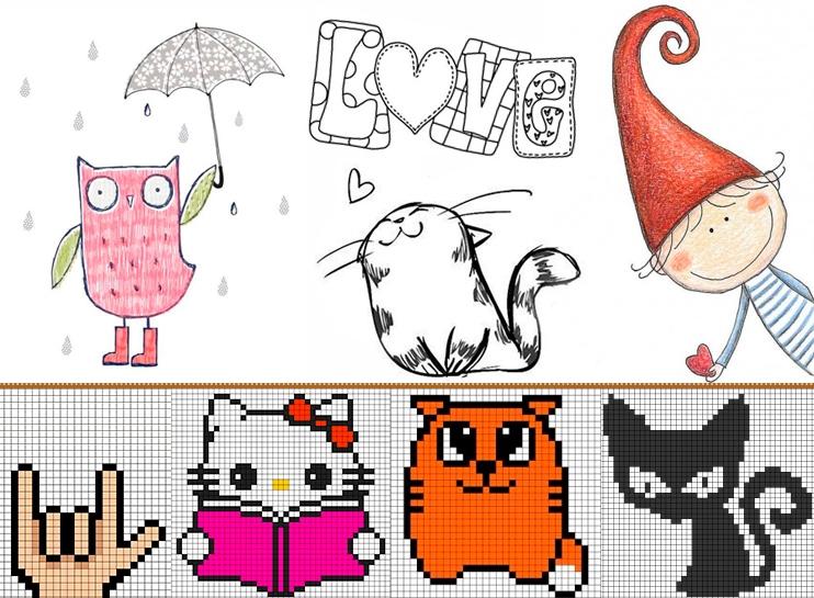 Рисунки смешные для личного дневника   подборка002