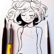 Рисунки смешные для личного дневника   подборка023