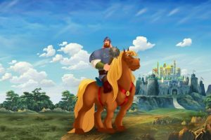 Рисунок богатырь на лошади   подборка 029