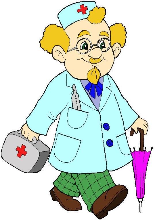 Рисунок врачей для детей