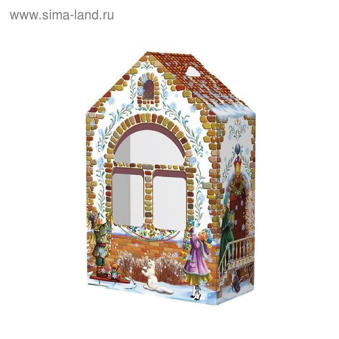 Рисунок домика с окошками   изображения 010
