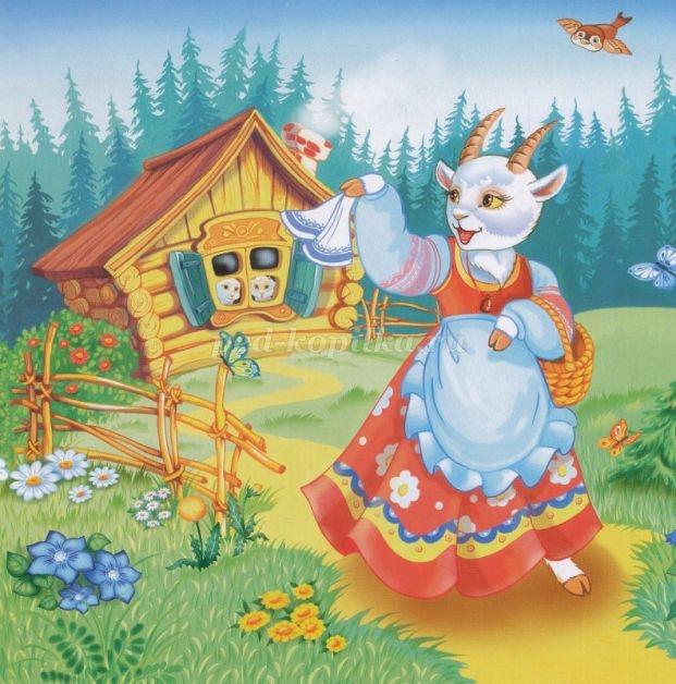 Рисунок из русских народных сказок 003