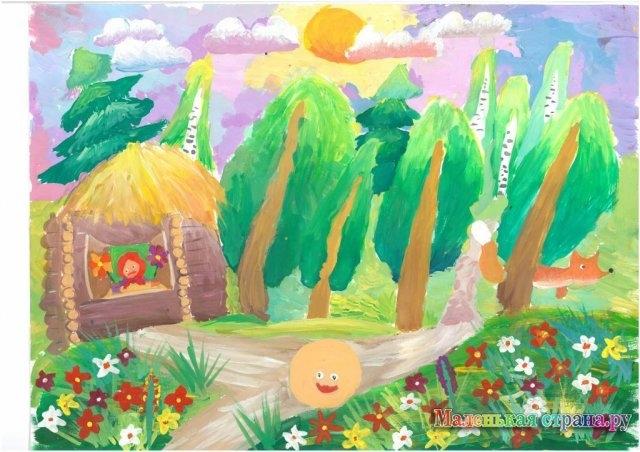 Рисунок из русских народных сказок 010