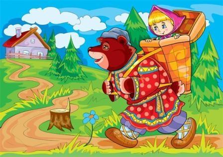 Рисунок из русских народных сказок 011