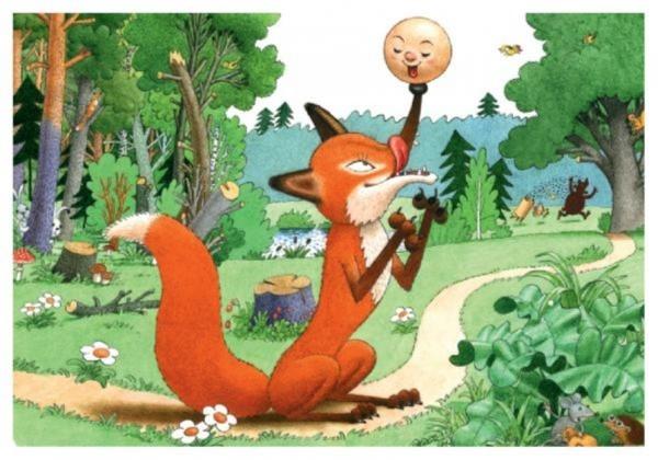 Рисунок из русских народных сказок 018