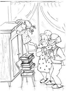 Рисунок как я помогаю маме по дому028