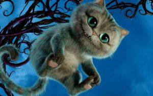Рисунок кота из Алисы в стране чудес (18)