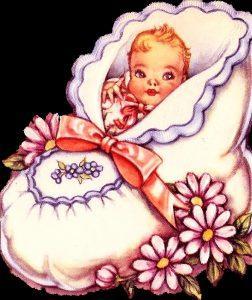 Рисунок малыш для детей 021