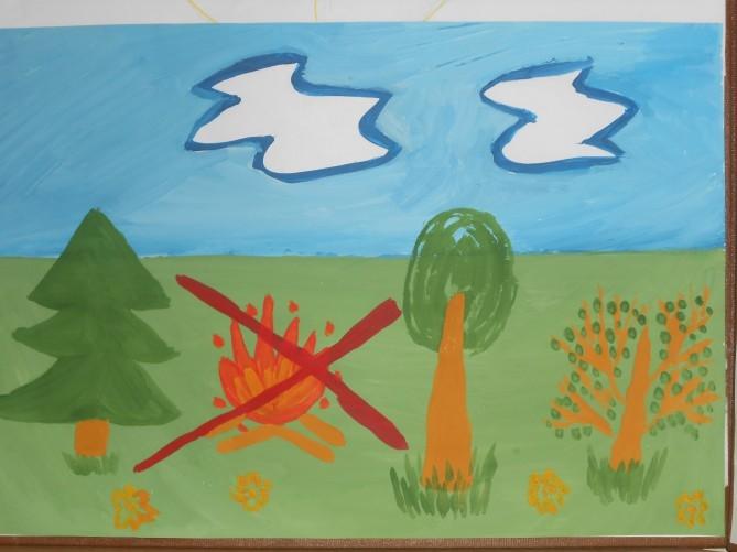 Рисунок на тему берегите природу 1 класс001