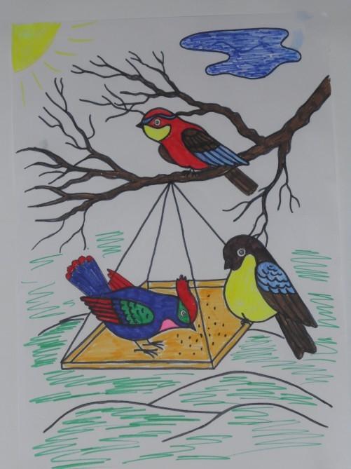 Рисунок на тему берегите природу 1 класс004