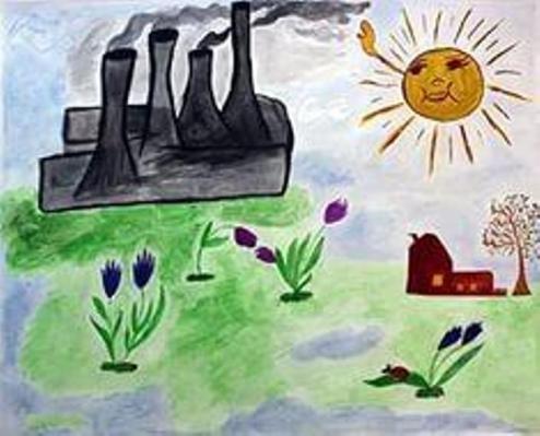 Рисунок на тему берегите природу 1 класс005