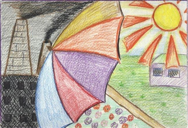 Рисунок на тему берегите природу 1 класс006