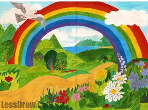 Рисунок на тему берегите природу 1 класс020