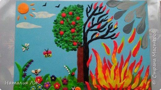 Рисунок на тему берегите природу 1 класс027