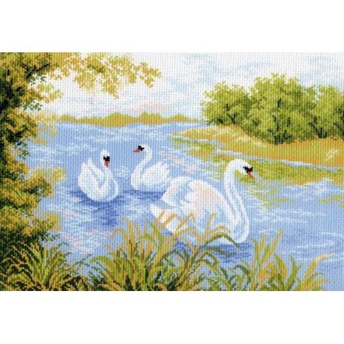 Рисунок на тему лебединое озеро 007