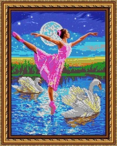 Рисунок на тему лебединое озеро 009