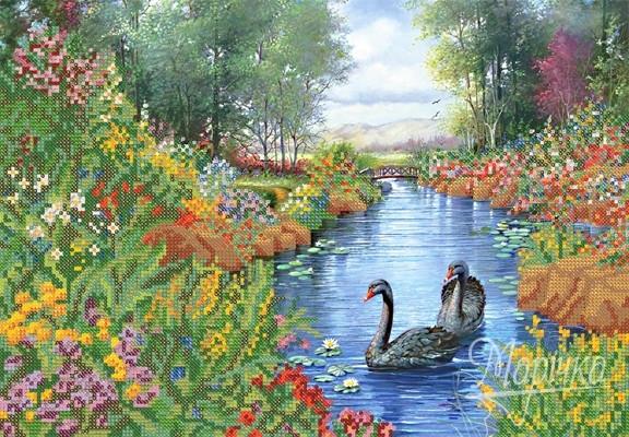 Рисунок на тему лебединое озеро 018