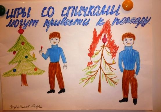 Рисунок на тему пожарная безопасность 1 класс.   картинки 029