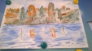 Рисунок осень к нам пришла 026