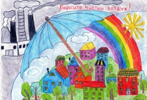 Рисунок по теме берегите природу для детей 029