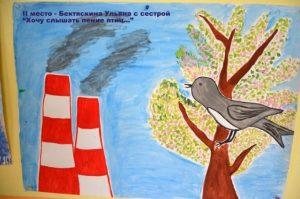 Рисунок что загрязняет воздух   подборка 023