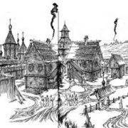 Россия в прошлом рисунки для детей 028