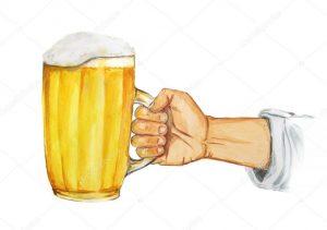 Рука с кружкой пива   классные фото 029