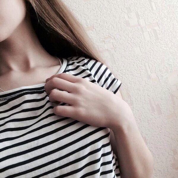 Русые девушки фото на аву без лица006