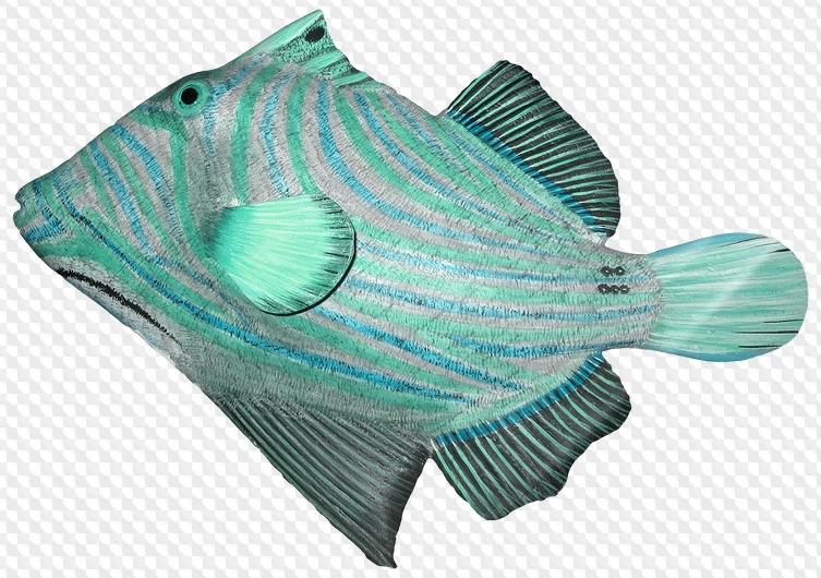 Рыбка на прозрачном фоне картинки для детей 002