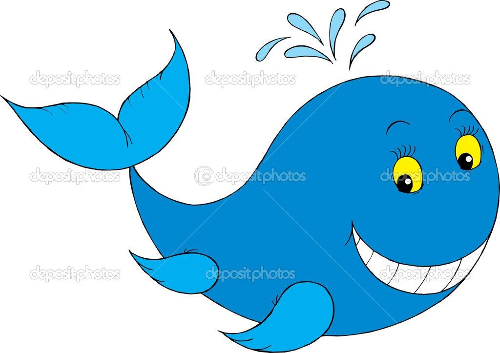 Рыбка на прозрачном фоне картинки для детей 016