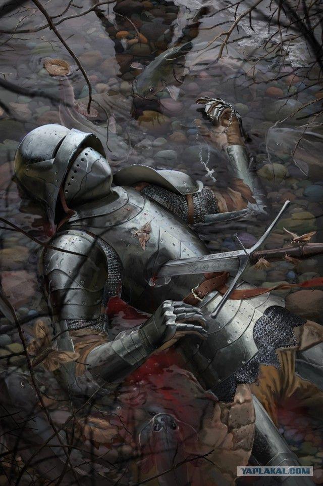 Рыцарь картинки фэнтези   подборка002