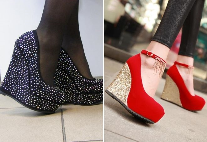 самые шикарные туфли без каблука фото всего