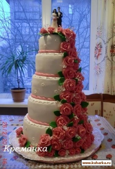 Самый большой торт и красивый   фото 006