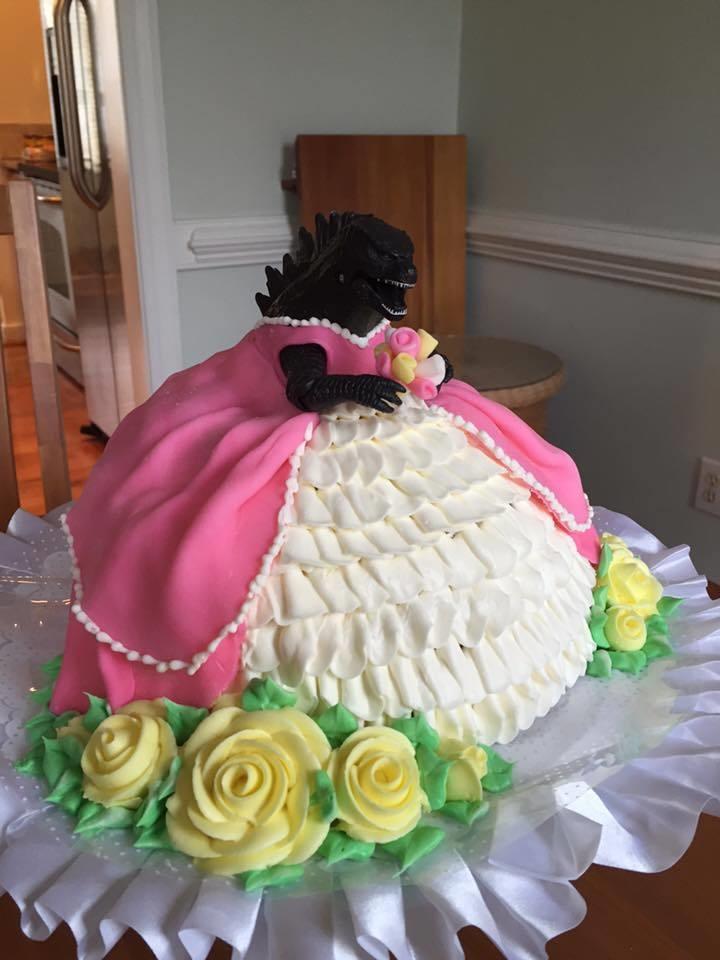 Самый большой торт и красивый   фото 010