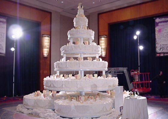 Самый большой торт и красивый   фото 012