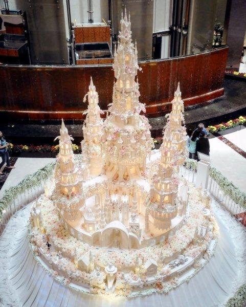Самый большой торт и красивый   фото 016