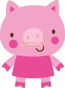 Свинка картинки для детей 023