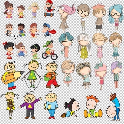 Семья картинки для детей на прозрачном фоне   скачать бесплатно 020